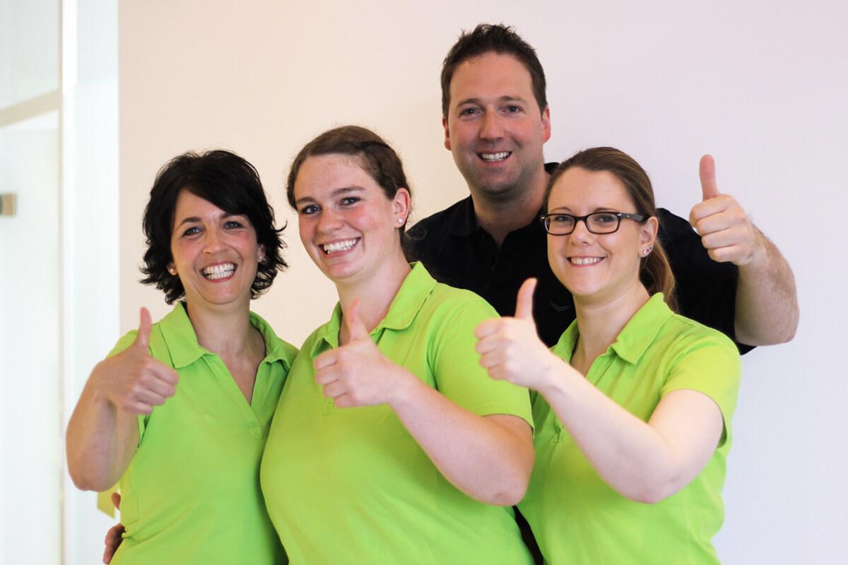 Unser Prophylaxe-Team von Smiling Solutions